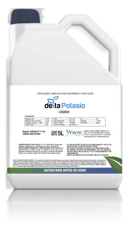 delta potasio