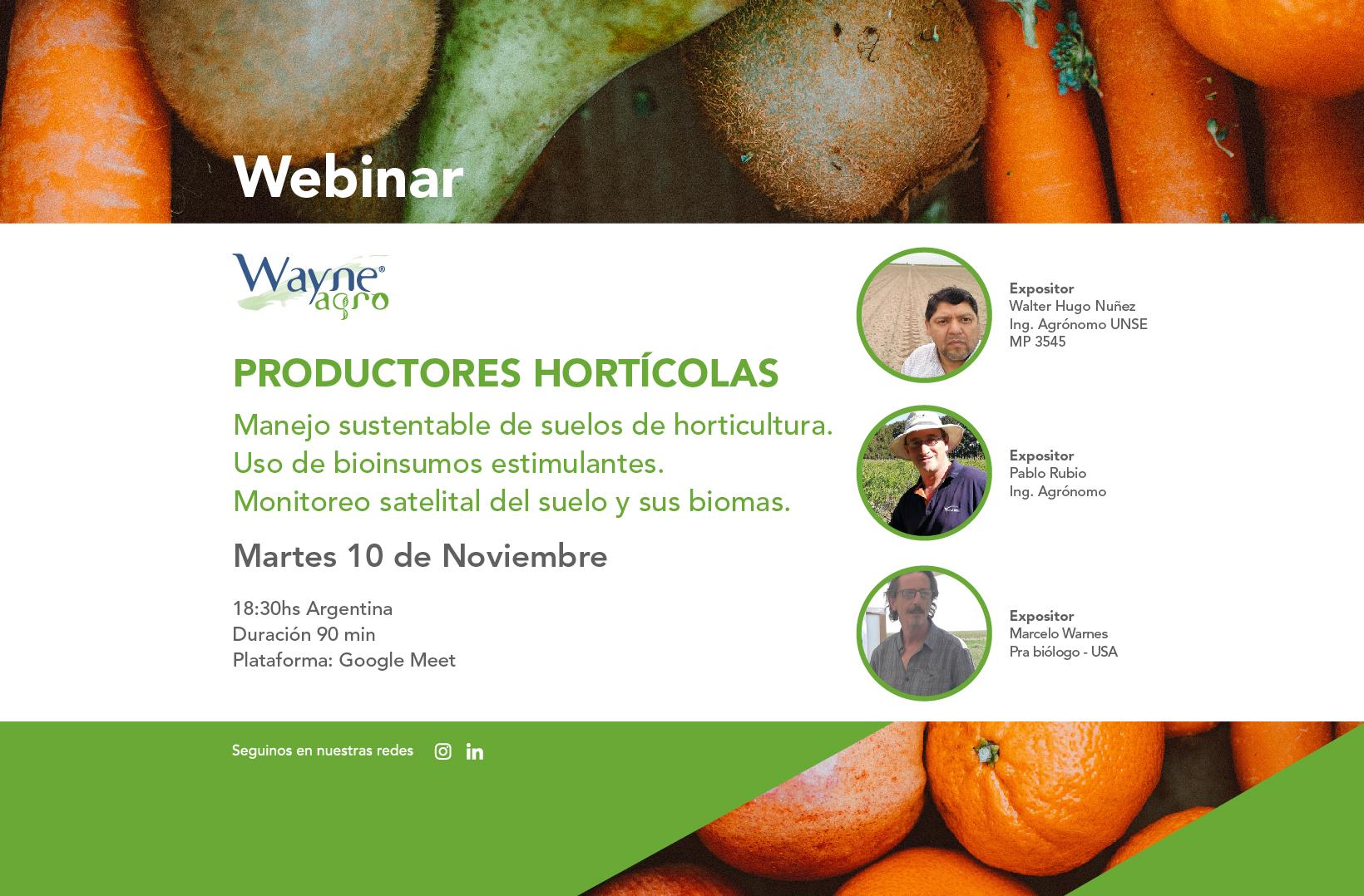 webinar horticola